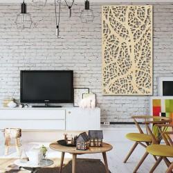 Dřevěný obraz dekor na zeď z dřevěné překližky Topol LOGOTECH