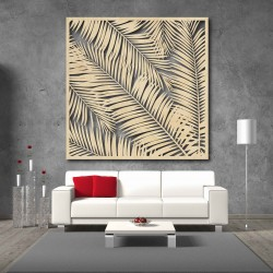 Obraz na stěnu vyřezávaný z dřevěné překližky Topol Lube