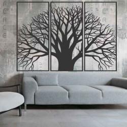 Dřevěný obraz na stěnu z dřevěné překližky strom klidu Kamov