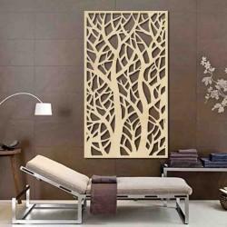 Obraz na stěnu strom z dřevěné překližky topol Lydie