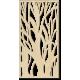 Obraz na stěnu strom z dřevěné překližky topol Lydie 2