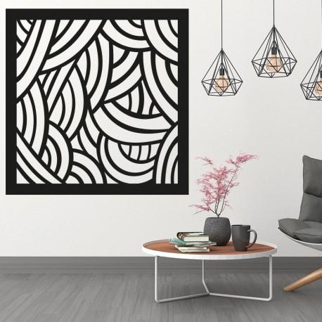 Obraz na stěnu do ložnice vyřezávaný překližky Topol PAPAGACI