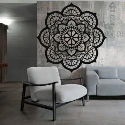 Mandala květ života dřevěný obraz na stěnu z překližky HELLA