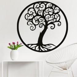 Dekorace na zeď strom života dřevěný obraz z překližky Julka