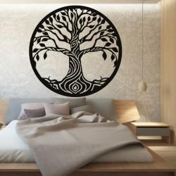 Obraz na stěnu strom z topol překližky BIDHIA