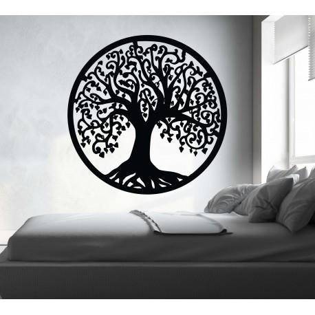Obraz na stěnu strom z dřevěné topolové překližky RADOST