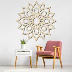 Obraz na stěnu květ z dřevěné překližky ZARUZA PR0222 topol