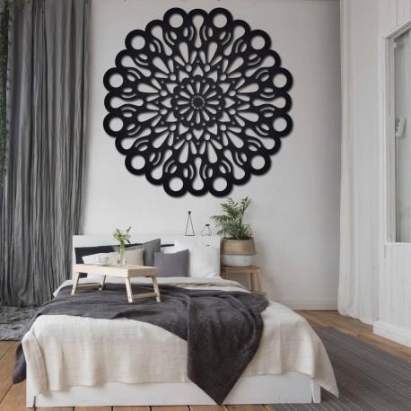 STYLESA dřevěný obraz na stěnu z překližky ORFEA PR0224 černý