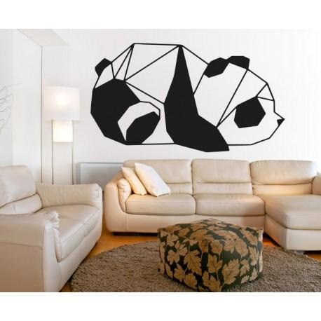 SENTOP Vyřezávaný obraz na stěnu medvěd PR0242 černý