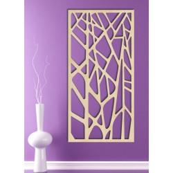 Vyřezávaný dřevěný obraz na stěnu z překližky HUGO