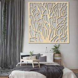 Vyřezávaný Dřevěný obraz na stěnu z překližky KVÁDERR