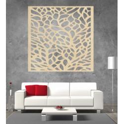 Vyřezávaný obraz na stenuz dřevěné překližky  KLIDKK