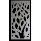 Obraz na stěnu vyřezávaný z dřevěné překližky kvet LISTY