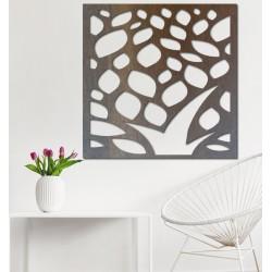 Vyřezávaný obraz na stěnu z dřevěné překližky květ LUSEKOJ