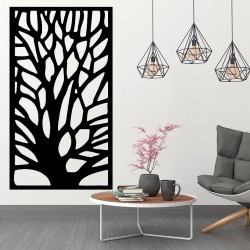 Obraz na stěnu vyřezávaný z dřevěné překližky strom Gute
