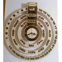 SENTOP Dřevěný kalendář + hodiny ze dřeva gravírované laserem JOGBEL II GB PR0161 topol