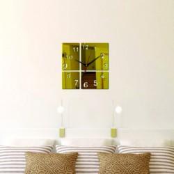 Moderní nástěnné hodiny zlatíčko OLEG