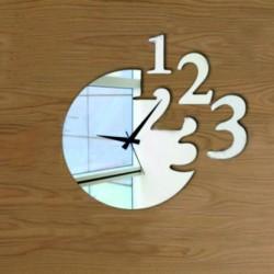 Moderní nalepovací nástěnné hodiny KRUSITA