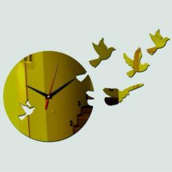 Nástěnné hodiny holubice DIY HILPKO