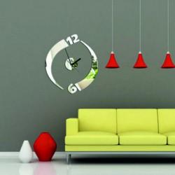 Moderní nalepovací nástěnné hodiny JULKA