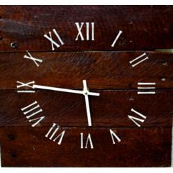 Dřevěné hodiny na stěnu strom