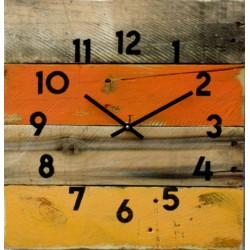 Dřevěné hodiny zvoní vstávej.