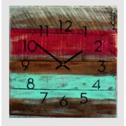 Dřevěné hodiny na stěnu Hawaii u vás doma.
