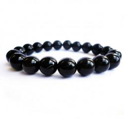 Náramek na ruku - Onyx černý - FI 10 mm