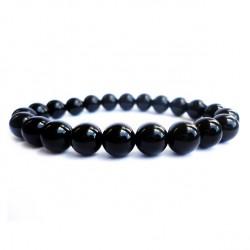 Náramek na ruku - Onyx černý - FI 8 mm