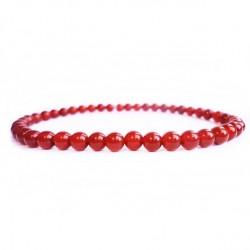 Náramek na ruku - Onyx červený - FI 12 mm