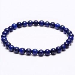 Náramek na ruku - Lapis lazuli - FI 6 mm