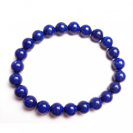 Náramek na ruku - Lapis lazuli - FI 8 mm